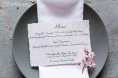 RUSTIC CANDLELIT BARN WEDDING THEME - CALLIGRAPHY: SWELL ANCHOR STUDIO
