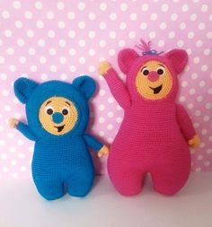 Pelúcias Billy Bam Bam - BabyTV - Amigurumi - Crochet Artesanal - Handknitted