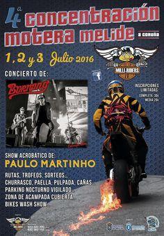 4ª Concentracion Motera Milliriders, en Melide. Ocio en Galicia | Ocio en Coruña. Agenda actividades. Cine, conciertos, espectaculos