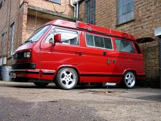 Porsche Powered Westfalia Camper - VW T25 | Flickr - Photo Sharing!