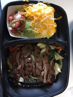 Uncle Julio's - Austin, TX, United States. TOGO: Beef Fajitas with extra cheese and no sour cream.
