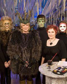 Halloween Makeup: Wild Thing, Frankenstein and Venetian Mask