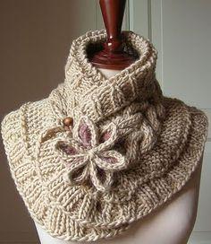 Шарфик (из интернета) / Вязание спицами / Вязание для женщин спицами. Схемы