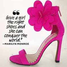 Shoes are wonderful.