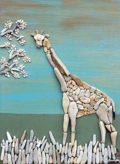 Giraffe of stones....