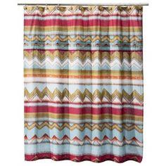 Boho Boutique™ Zazza Pleated Shower Curtain