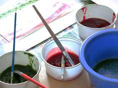 Malen mit selbst gemachten Pflanzenfarben - Ökoleo.de