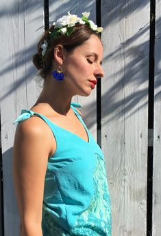 Plan B for a festive top . sew your Citron camisole! - Draw me a boss Cool Patterns, Sewing Patterns, Magazine Mode, Couture Outfits, Festival Tops, Little Bow, Camisole, Cold Shoulder Dress, Clothes