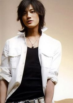 Akanishi Jin besides being singer also is an actor Armin, Asian Boys, Asian Men, Akanishi Jin, Asian Cute, Japanese Boy, Japanese Artists, Asian Actors, Actor Model