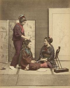 7 surprenantes photos en couleurs du Japon du XIXe siècle · Global Voices en Français