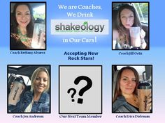 We are rocking our businesses, rocking our fitness, and are ready to expand the team and build our dreams!