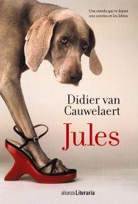 """""""Jules"""" es un relato a dos voces lleno de ternura. Una novela romántica, vertiginosa y original, llena de humor y fina ironía. Una historia, a veces políticamente incorrecta, de aprendizaje mutuo, de pasiones volcánicas y situaciones delirantes de la mano de un perro guía un tanto peculiar. http://absys.asturias.es/cgi-abnet_Bast/abnetop?ACC=DOSEARCH&xsqf01=jules+cauwelaert"""