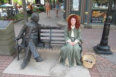 then we saw Anne of Green Gables, talking to Sir John ...