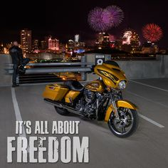 It's all about freedom. | Harley-Davidson