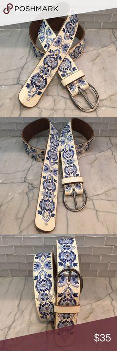 "Paski Dodatki damskie Silver Ladies Leather Belt Round Buckle35mm X 112cm Long L Fits 36""To40"""