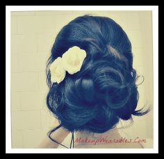 DIY | Elegant, wedding Hair Tutorial | homecoming & prom hairstyles