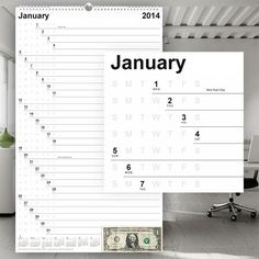 20 Most Creative 2014 Calendar Designs - Blog of Francesco Mugnai