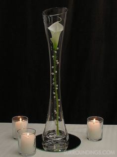 calla centerpiece kit