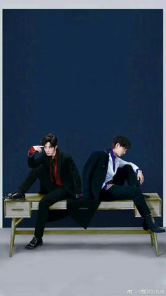Wang Yibo and Xiao Zhan The Grandmaster, Chinese Boy, Asian Actors, Handsome Boys, K Pop, Cute Boys, Manhwa, My Idol, Beautiful Men