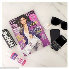 Another plug for Kylie: Kim also shared the beauty's magazine cover while revealing she ha...
