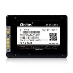 Zheino S1 2.5 inch SATA 32GB 64GB 128GB SSD SATA3 Internal Solid Disk Drives (2D MLC NOT TLC)7mm Hard Disk Drive for PC Laptop  Price: 32.43 USD