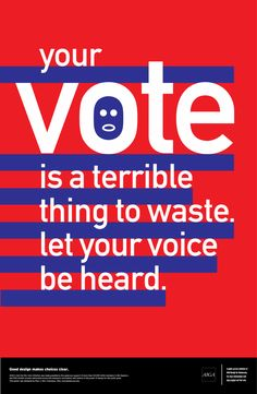 Get out and be heard! (via AIGA)
