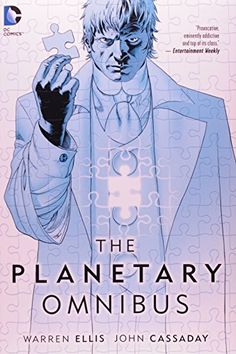 The Planetary Omnibus, 2014 The New York Times Best Sellers Hardcover Graphic Books winner, Warren Ellis and John Cassaday #NYTime #GoodReads #Books