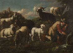 Lot-image Irish Traditions, Flocking, Oil On Canvas, British, Painting, Traditional, Image, Blog, Art