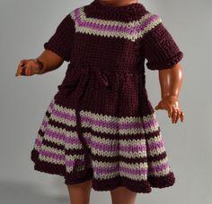 Puppenkleid für 32 cm Puppe von MonikasPuppenmode auf DaWanda.com