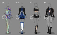 Contest Prize Outfits by Nahemii-san on DeviantArt