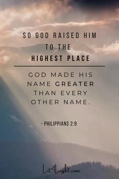 The name of Jesus is greater than any obstacle