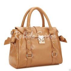 Sac à Main Femme-Camel doux à double usage de sacs à main rétro