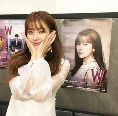"Han Hyo-joo in Korean Drama ""W Two Worlds"""