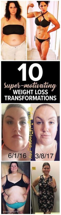 10 Weight Loss Transformations For True Motivation. Popculture.com #transformation #bodytransformation #weightlosstransformation #weightloss #beforenadafter #weightlossinspiration #weightlossmotivation #wellness #womenshealth