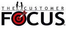 The Customer Focus Logo -- Customer Service Training sessions that will inspire, motivate, and educate. Focus Logo, Customer Service Training, Company Logo, Inspire, Motivation, Education, Logos, Inspiration, Sports