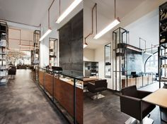 Industrial softness – Mogeen Hairsalon Amsterdam | Ideas To Steal