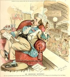 """An American Autocrat"" 1890"