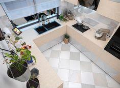 Zdjęcie projektu Puk 3 WOE1103 Small Buildings, Home Fashion, Tile Floor, Ceiling Lights, Flooring, Mansions, House Styles, Furniture, Home Decor