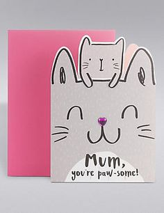 Mother's Day Cat Card                                                                                                                                                                                 More