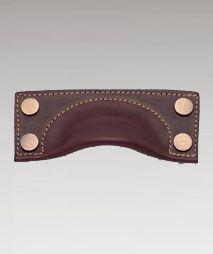 leather door handles