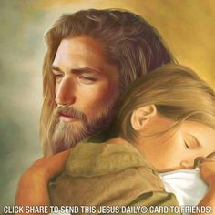 Nothing compares with the love and compassion that Jesus shows his children! God and Jesus Christ Pictures Of Jesus Christ, Jesus Christ Images, Jesus Art, Jesus Painting, Jesus Is Lord, Heavenly Father, Faith In God, Jesus Loves, Christianity