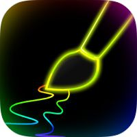 Neon Glow Paint by Gluten Free Games Glow Paint, Neon Glow, App Store, Free Games, Gluten Free, Neon Signs, Painting, Glutenfree, Painting Art