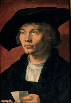 Daily artworks: Albrecht Dürer (1471 - 1528) Portrait of Bernhard von Reesen (1521)