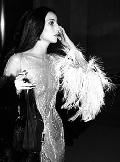 Cher being gorgeous. Probably in Bob Mackie?