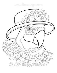 The Dapper Animals Coloring Book Features 30 Whimsical Dressed To Nines In A Delightful Variety Of Hats Glasses Jackets Pajamas And More