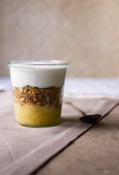 Banana Coconut Parfait ~ Savory Simple ~ www.savorysimple.net