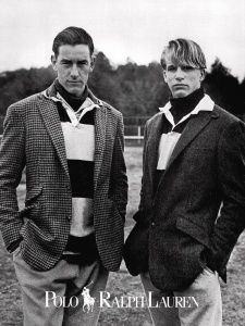 Polo Ralph Lauren Fall/Winter 1987/88 Photo Bruce Weber Models Easton, Isabelle Townsend & Unknown