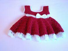 Newborn Mrs. Santa dress