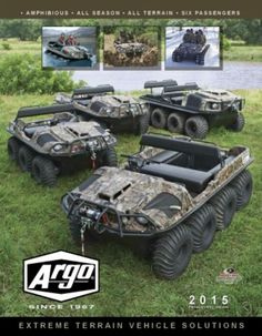 Argo High Performance All terrain vehicle My Dream Car, Dream Cars, Argo Atv, Toys For Boys, Boy Toys, Converted Vans, Snow Machine, Atv Riding, 4 Wheelers