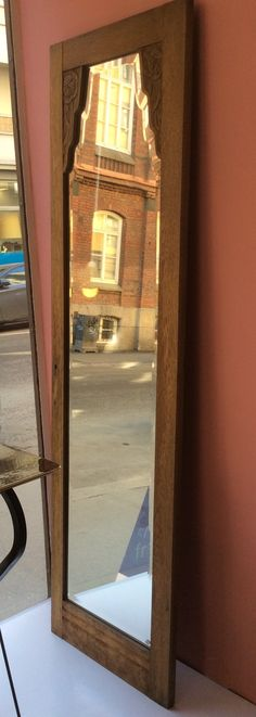 kaunis fasettihiottu kaapinovipeili, 50x168cm